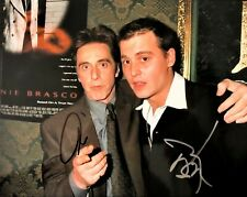 Donnie Brasco - Al Pacino & Johnny Depp Signed 8x10 Photo with COA Autograph