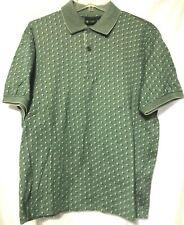 Bobby Jones Mens Green Cotton Golf Polo Shirt Size Large             MG9