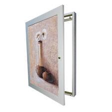 Tapa contador moldura cuadro de luz 1 puerta c/cuelga llaves,m/ext 56x46x5'7 cm.