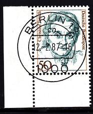 51) Bund 50 Pf Frauen 1304 Ecke 3 Bogenecke unten links TST Berlin 12 cn Typ I