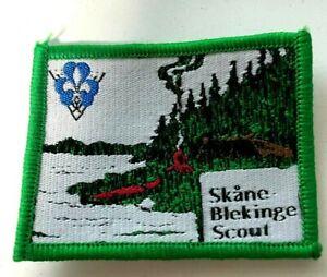 Boy Scout - Sweden KFUM Skåne Blekinge Scout district badge