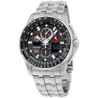 Citizen Skyhawk A-T Eco-Drive Movement Black Dial Men's Watch JY8050-51E