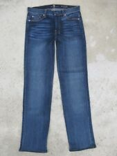 7 for all Mankind Jeans Slim Trouser High Waist Straight Legs Narrowed Sz 27