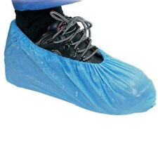30 Disposable Shoe Cover Plastic Cleaning Overshoe Boot Safety Protect Hygienic