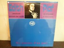 LP - EDITH PIAF - Les amants d'un jour - VG+/VG+ - MFP 5544 - RARE FROM ITALY