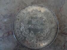 Pièce de 50 francs en argent 1977