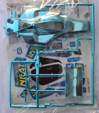 VV Mini 4WD AVANTE - AZENTE JR BLUE PLATED BODY PART SET (Tamiya 18014 - 15087)