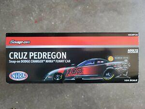 Snap-on Cruz Pedregon 100 Anniversary 1/24 Diecast Dodge Charger Funny Car NHRA
