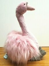 "Jellycat 42cm 17"" Petite Rose Pink Solange Swan With Tags"