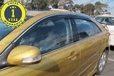 Injection model Weather Shields Weathershields Window Visors Toyota Aurion 06-11