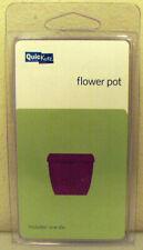 FLOWER POT DIE QUICKUTZ lifestyle craft epic revolution