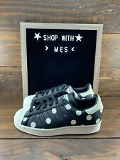 ADIDAS SUPERSTAR WOMENS POLKA DOT SHOES FZ0154- NEW