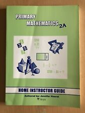 Singapore Math Primary Mathematics 2A Home Instructor's Guide - Like New!