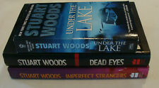MIXED LOT OF THREE STUART WOODS STAND ALONE BOOKS 2 HARDCOVER 1ST & 1 PAPERBACK