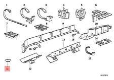 Genuine BMW E32 E34 Sedan Sealing Blind Plug D=18MM x10 pcs OEM 61131391714