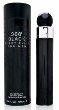 360 Black Men by Perry Ellis 3.3 / 3.4 oz / 100 ml EDT Cologne Spray NEW IN BOX