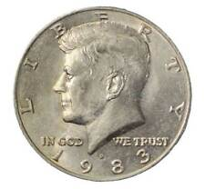 1983 D Kennedy Half Dollar - Coin in Great shape