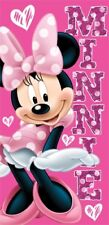 "Disney Minnie ""Sassy Hearts"" Licensed Beach Towel"