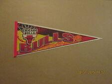 NBA Chicago Bulls Vintage 1990's SLAM DUNK Logo Pennant