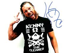 Kenny Omega Signed Wrestling 8x10 Photo Autographed Bullet Club NJPW Cleaner 1