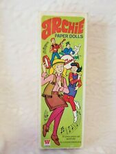 Collectible Toy - 1969 Archie Paper Dolls