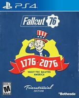 Fallout 76 Tricentennial Edition PlayStation 4 PS4 FALLOUT MULTIPLAYER