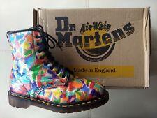 DOC DR. MARTENS FANTASY GLITTER BOOTS MADE IN ENGLAND RARE VINTAGE UNISEX 6UK
