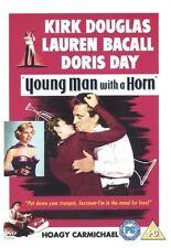 Young Man with a Horn starring Kirk Douglas,Lauren Bacall & Doris Day [DVD]
