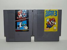 Lot Nintendo NES - Super Mario Bros & Duck Hunt [FRA] + Super Mario Bros 3 [FRA]
