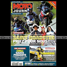 MOTO JOURNAL N°1474 CAGIVA 1000 XTRA RAPTOR KAWASAKI ZR-7S SUZUKI 600 BANDIT S
