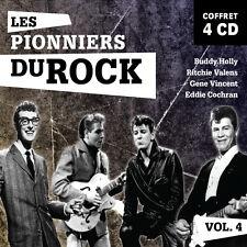 4 CD Gene Vincent Buddy Holly R. Valens Eddie Cochran