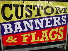 CUSTOM  2m x 1.5m OUTDOOR VINYL BANNERS FREE SHIPPING & ARTWORK