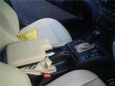 FITS BMW E46 AUTOMATIC ARM REST COVER&GAITERS BEIGE LEATHER