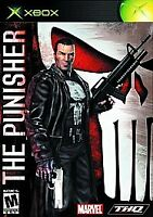 RARE Complete in Box The Punisher Original Microsoft Xbox Black Label GOOD COND