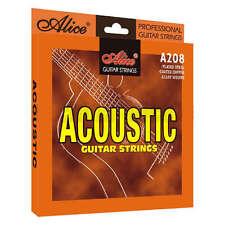 Alice Acoustic Guitar Strings Aw208sl Custom Light Gauge 11s 0.11-0.52