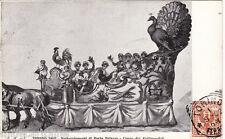 #TORINO: FESTEGGIAMENTI DI PORTA PALAZZO- 1902 CARRO DEI POLLIVENDOLI