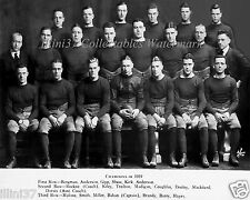 1919 NOTRE DAME FIGHTING IRISH KNUTE ROCKNE GEORGE GIPP 8X10 TEAM PHOTO
