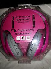 Nakamichi NK 780M Headphones Pink