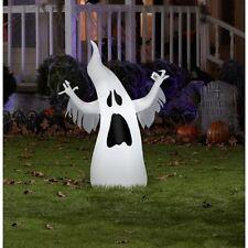 Halloween Lighted Ghost Yard Decoration 3' Airblown Air Blown - Kid Friendly
