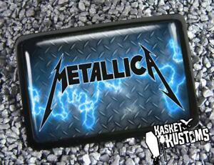 Metallica Belt Buckle - Heavy Metal Rock Handmade Buckle - 696