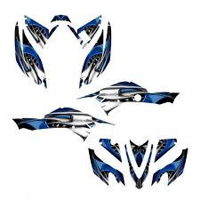 TRX 400 EX Graphics Decals for Honda 2008 -2016 #4444 Blue Free Custom Service