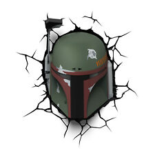 3D FX Star Wars BOBA FETT Wall Night Light
