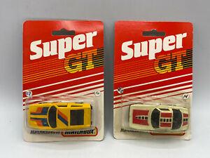 Vintage Matchbox 1983 Super GT 1/64 Diecast Lot 2 Pieces