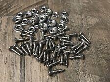 """40pcs Fits Chevy Buick  Pontiac stainless kick panel door trim screws #6 x 5/8 """""""