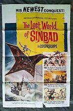 The Lost World of Sinbad AKA Dai tozoku 1sh movie poster TOHO Toshiro Mifune 65