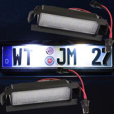 LED SMD Nummernschild Leuchte sehr helle weiße Kennzeichen Beleuchtung [71703]