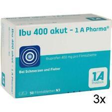 IBU 400 akut 1a Pharma Filmtabl. 50 St PZN 3045316