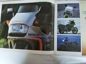Honda CX500 Turbo 16 Page Motorcycle Sales Brochure - RARE, Excellent Condition.