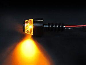 MOTOGADGET M.BLAZE PIN ULTRA BRIGHT MINI LED INDICATOR BLACK - SOLD SINGULARLY