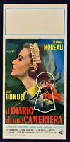 Cartel el Diario por una Camarera Luis Buñuel Jeanne Moreau L30